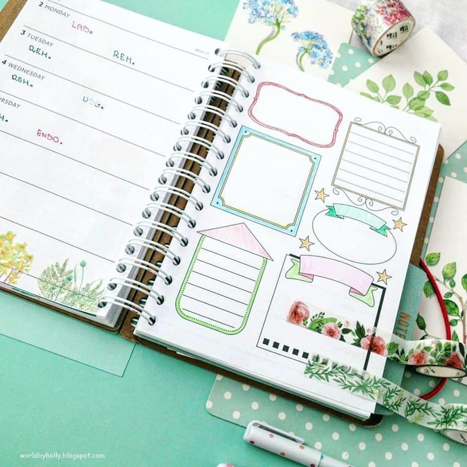 planer letni, planner