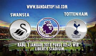 Prediksi Swansea vs Tottenham Hotspur 3 Januari 2018