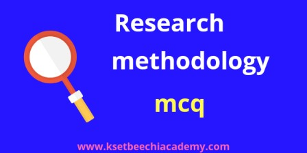 Research-methodology-mcq