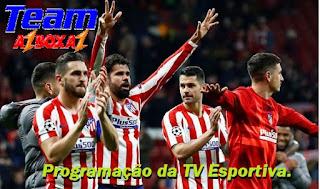 Programação da TV Esportiva ''sexta'' 03/07/20