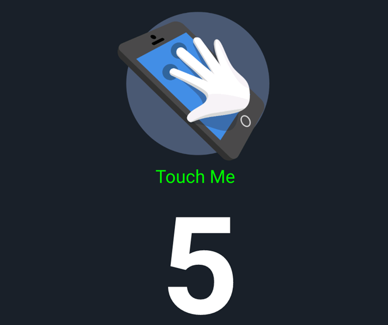 5 points of multi touch