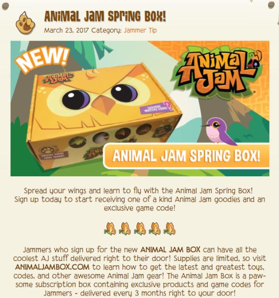 The Animal Jam Spring!: Tiki Chair, Animal Jam Spring Box and
