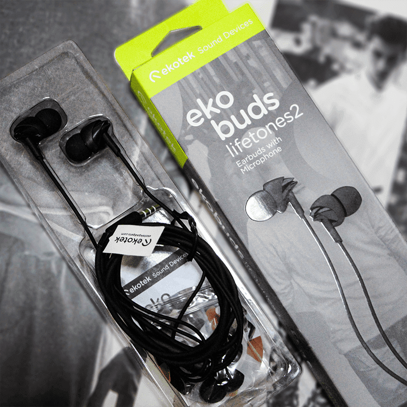 Raffle: Ekobuds Lifetones 2 In-ear monitors