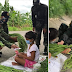 Camarines Sur Cops buy all the vegetables that the young girl is selling is a random acts of kindness during pandemic