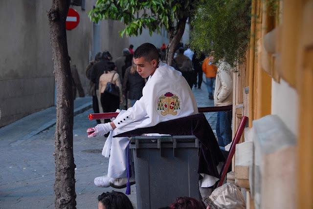 Nazareno pelota cera Madrugá Semana Santa Sevilla