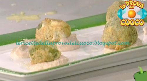 Crocchette di patate e bieta con salsa tonnata ricetta Ricchebono da Prova del Cuoco