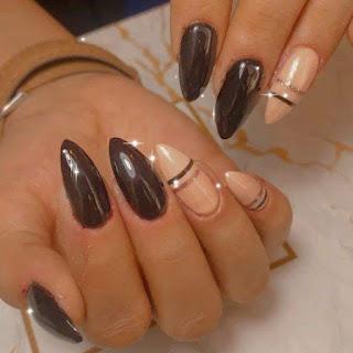 Black And Gold Nail Ideas