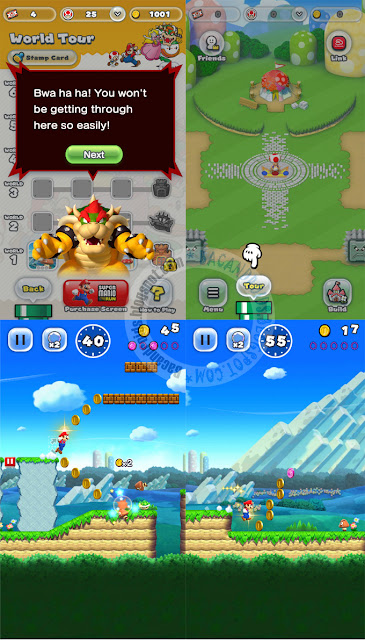 Super mario Run Apk Full terbaru + Mod Unlocked Chapter
