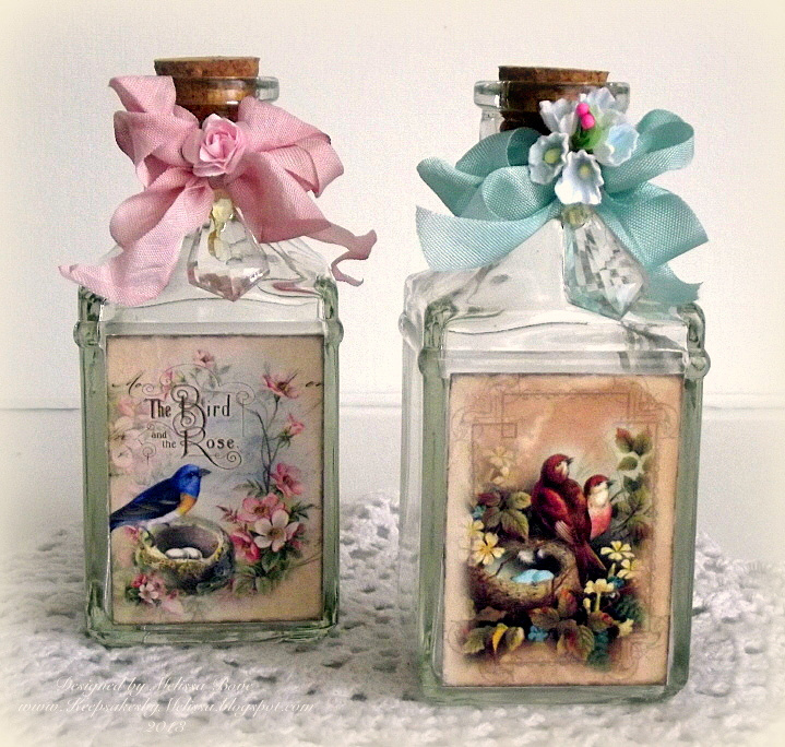 Decoupage Craft Ideas To Go Along With Books