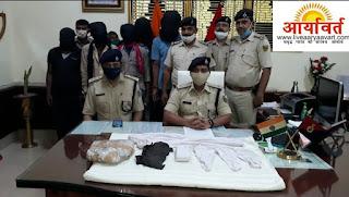 begusarai-police-arrest-gang
