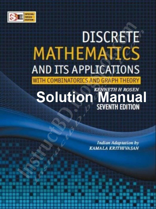 solution discrete mathematics and it s application by kenneth h rh instructbd blogspot com discrete mathematics rosen solution manual discrete math kenneth rosen solution manual pdf