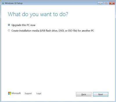 Upgrade Windows 7 ke Windows 10 Free