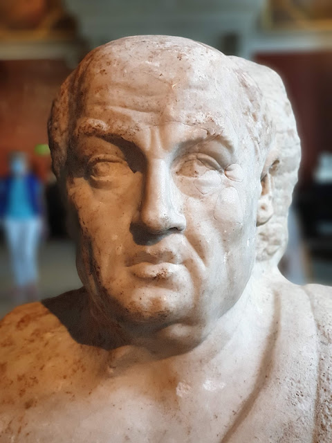 The only known bust that actually portrays Seneca is in Neues Museum in Berlin. Photo: Jannik Lindquist