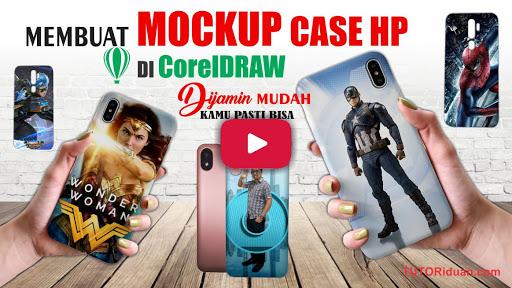 Video Desain Mockup Case HP dengan CorelDraw
