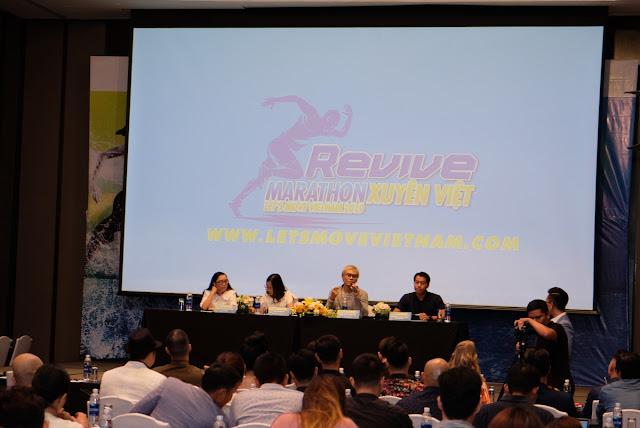 Hàng loạt sao đến tham dự sự kiện Revive Marathon Xuyên Việt 12