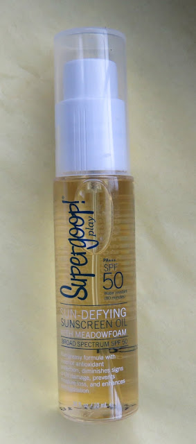 Supergoop! Sun Defying Sunscreen Oil with Meadowfoam SPF 50