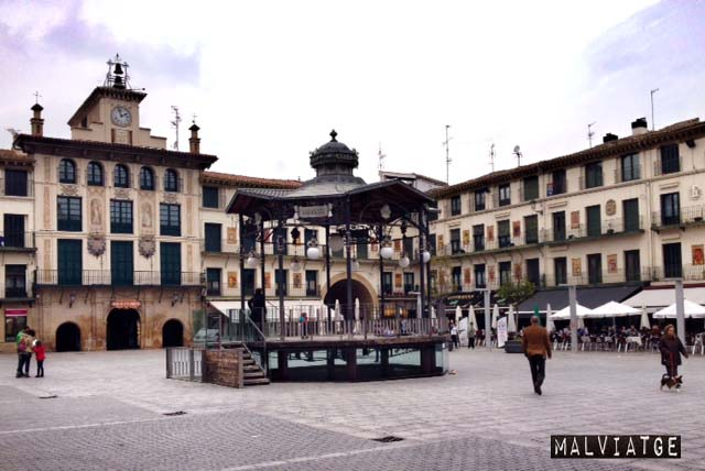 plaza mayor tudela