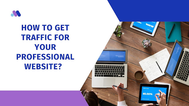 how to get traffic for your professional website?