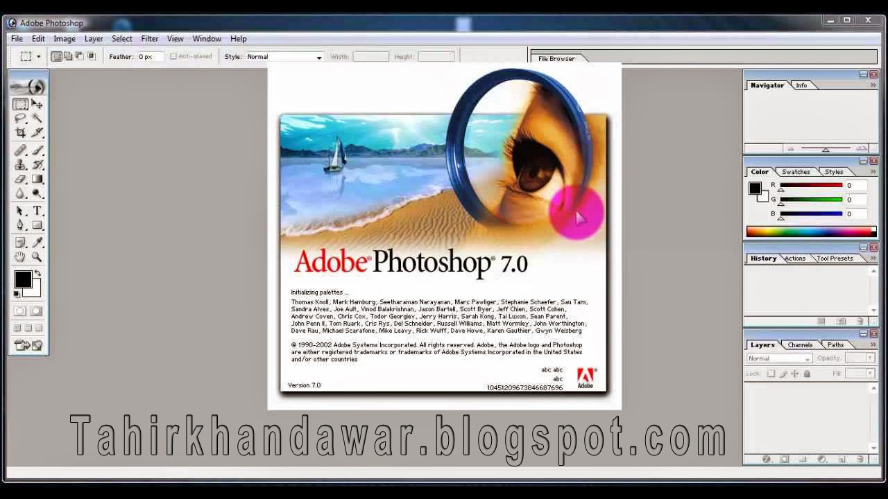 Learn Free Complete Adobe Photoshop 7.0 Tutorials in Urdu and Hindi
