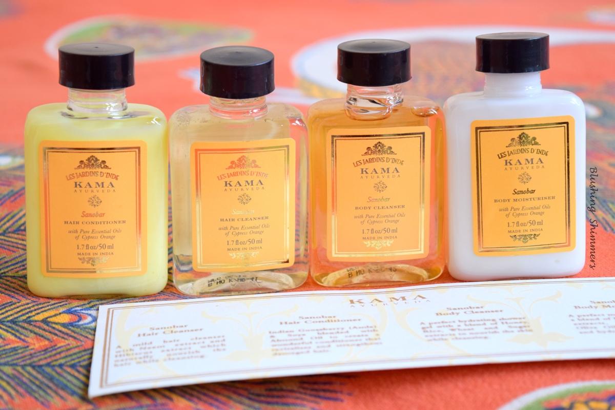 Kama Ayurveda Sanobar Travel Kit
