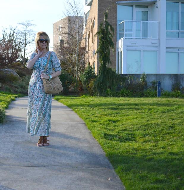 fashion, fashionblogger, spring, bohemian, fashionover50, bremertonwa