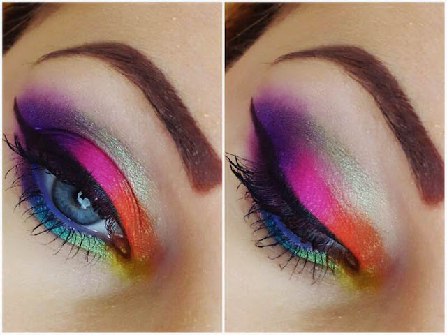 Colourful Spring Makeup