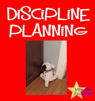 discipline planning for problem behaviors in children