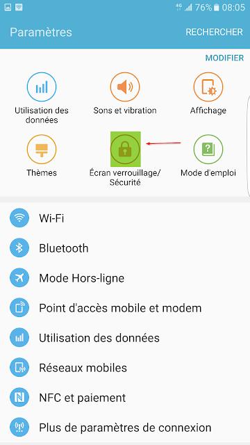 sécuriser-téléphone-Samsung