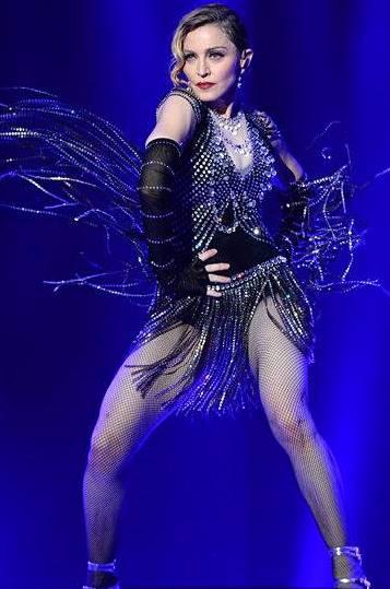 Foto de Madonna increible en el escenario