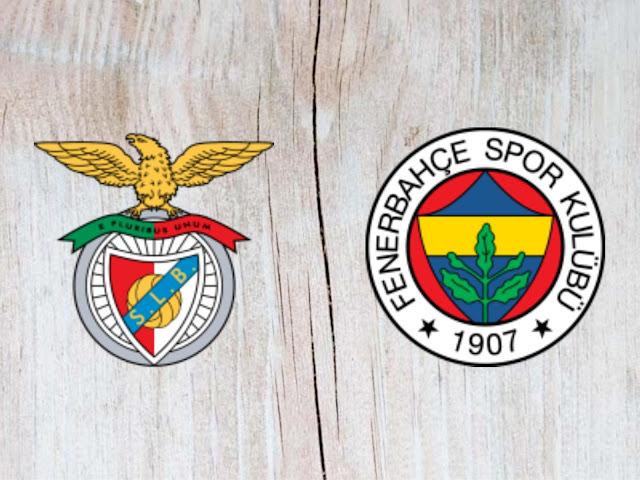 Watch Benfica vs Fenerbahçe - Highlights 07 August 2018