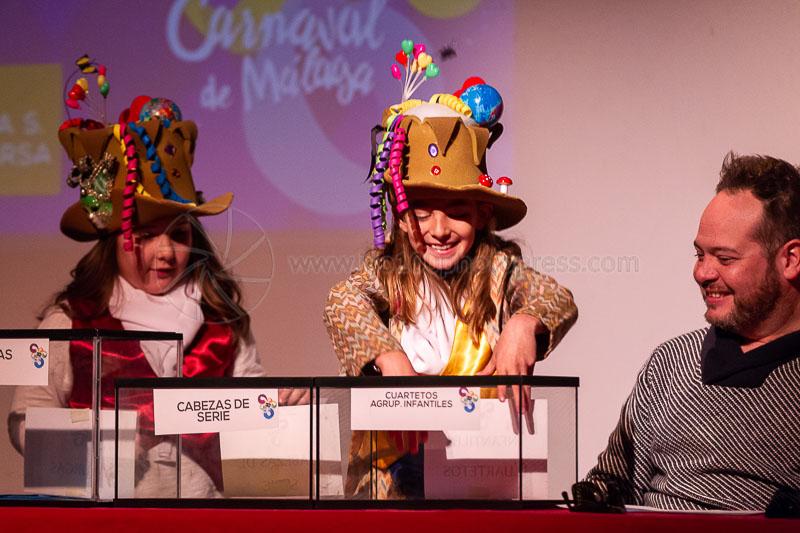 Sorteo COAC Carnaval Málaga 2019