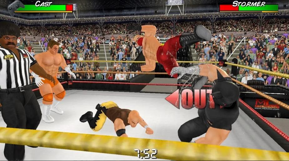 تنزيل لعبة Wrestling Empire
