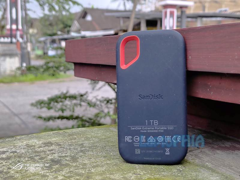 Desain Sandisk Extreme Portable SSD 1TB