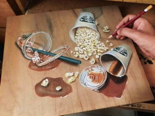 10-Spilling-Hyper-Realistic-drawings-on-Boards-www-designstack-co