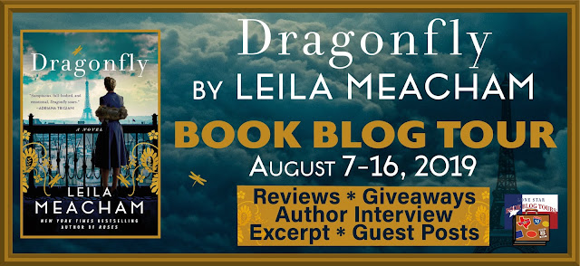 Dragonfly: Guest Post and Giveaway