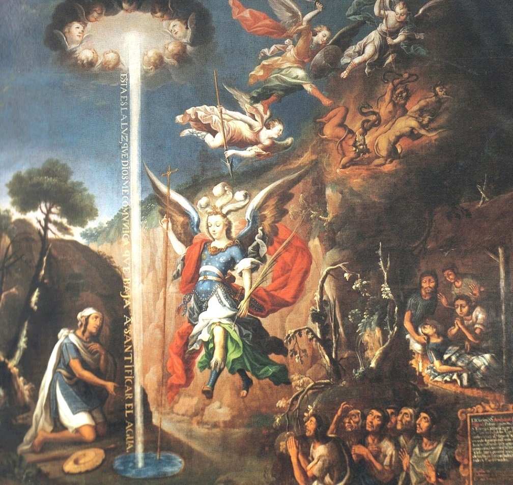 St. Michael Vanquishing Satan - Wikipedia