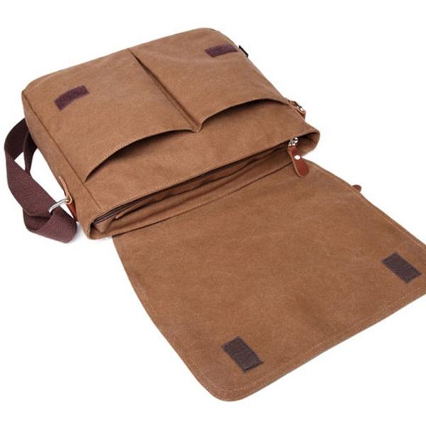 Túi đeo chéo nam vải bố giá rẻ VF286
