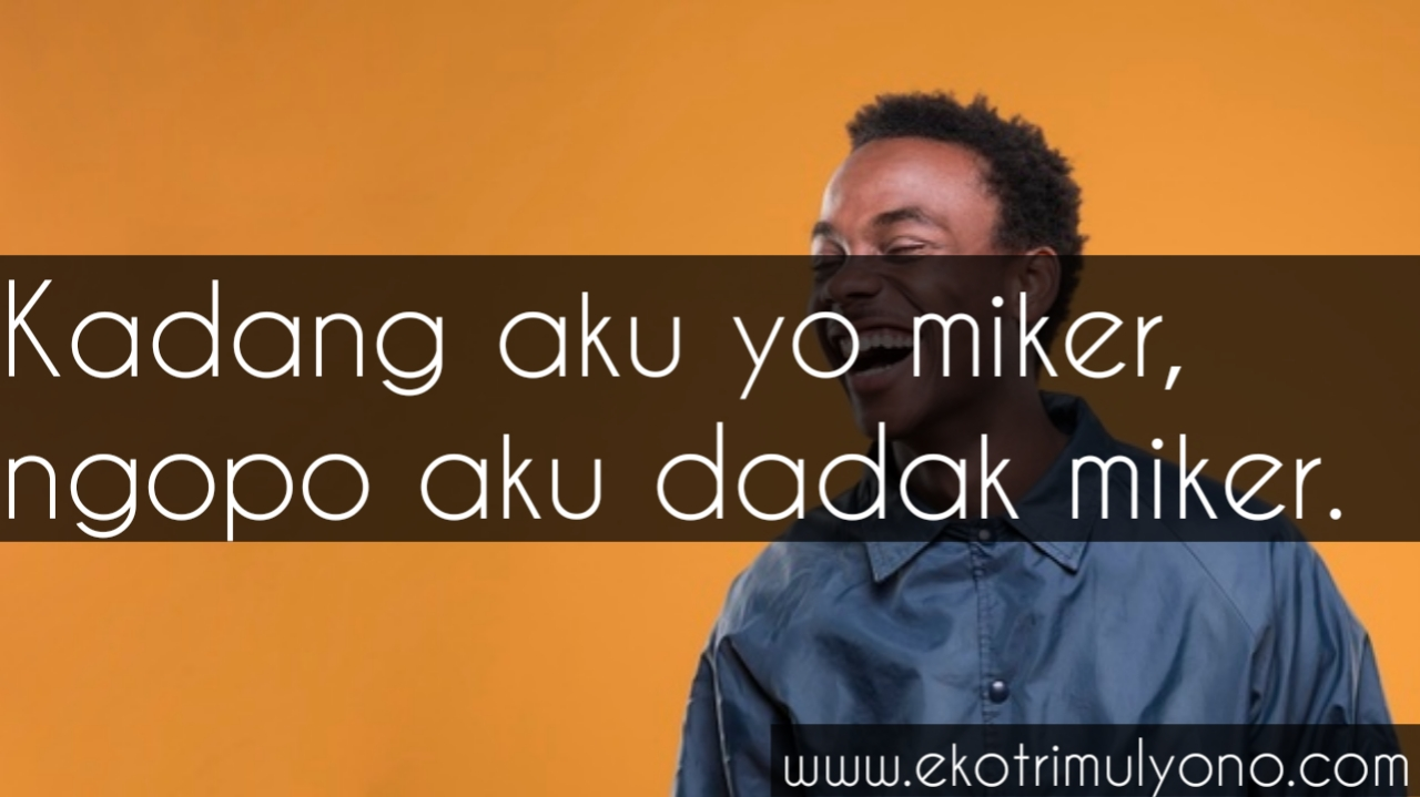 Kata Kata Mutiara Bahasa Jawa Lucu REKOMENDED