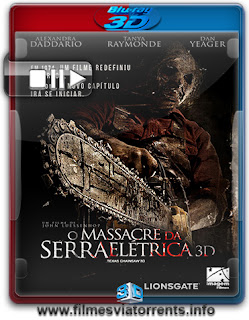 O Massacre da Serra Elétrica 3D – A Lenda Continua Torrent – BluRay Rip 1080p 3D HSBS Legendado (2013)