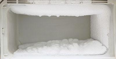 kenapa kulkas 1 pintu ada bunga es