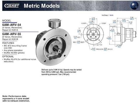 Gast Air Motor 6AM