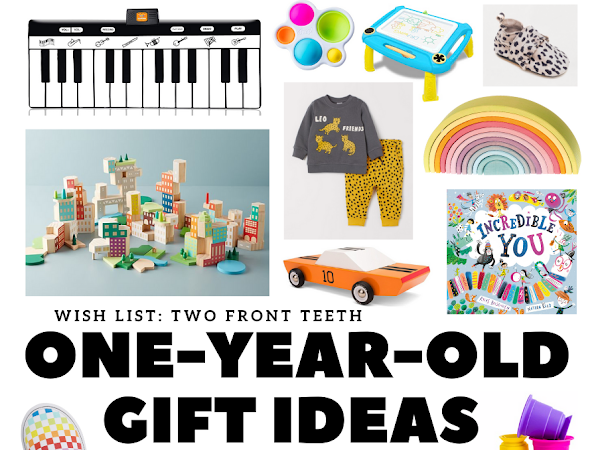 Christmas Gift Ideas for One-Year-Olds