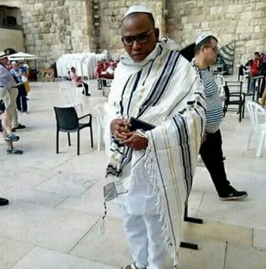 MYSTERY SOLVED!!! HOW NNAMDI KANU GOT TO JERUSALEM ISREAL NOW UNCOVERED...SEE