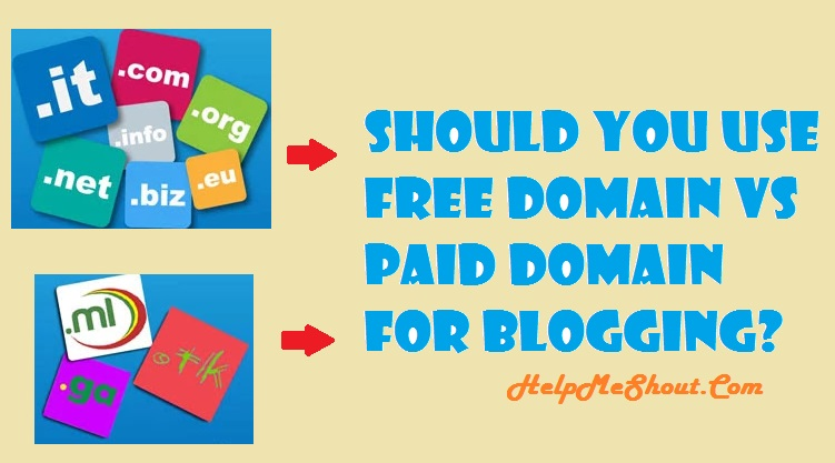 free domain vs paid domain