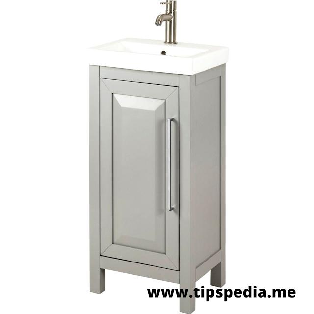 14 inch wide bathroom cabinet