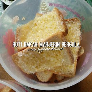 Roti bakar marjerin bergula