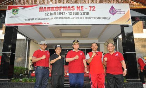 """Wagub Sumbar :""""Bersama Kita Bangun Insan Koperasi Indonesia Yang Ber-Karakter Entrepreneur"""