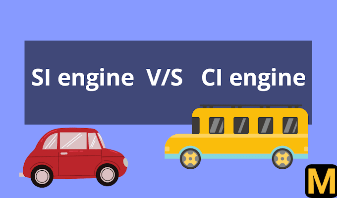 Spark ignition (SI) vs Compression ignition (CI) engine