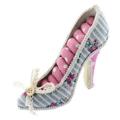 Shop Nile Corp Wholesale Fabric Mini High Heel Ring Display