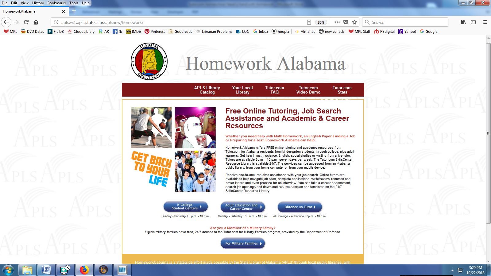 Grapevine public library live homework help